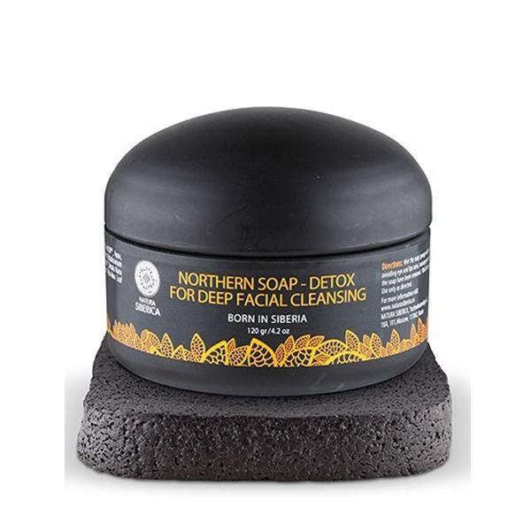 Jabón Negro Detox Natura Siberica, 120 g