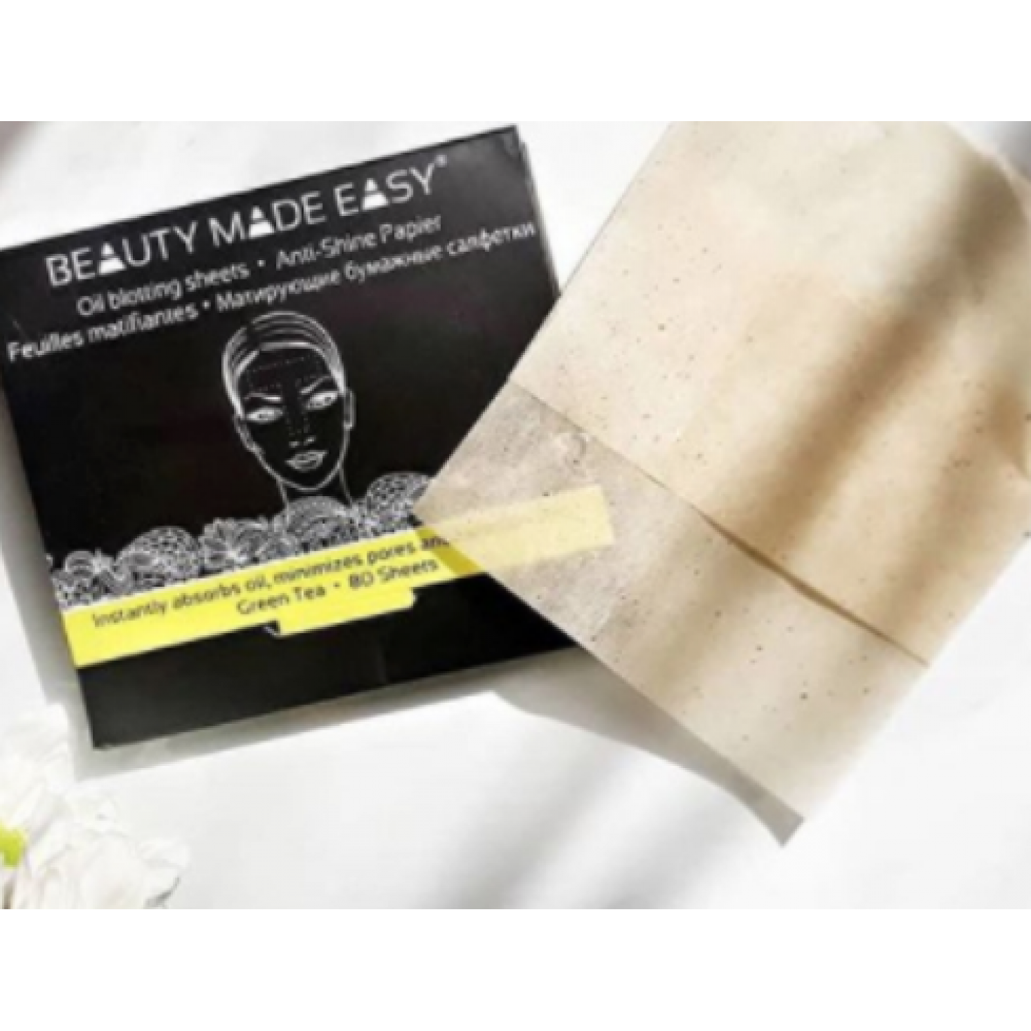 Papeles Matificantes y Absorbentes Beauty Made Easy 80 und.